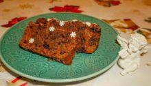 Кекс рождественский с сухофруктами и коньяком