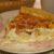 Пирог с цветной капустой и беконом